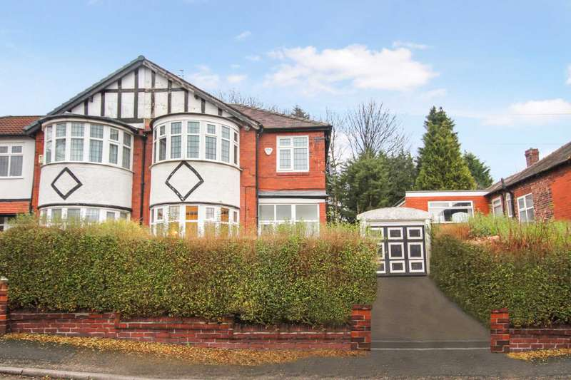 4 Bedrooms Semi Detached House for sale in Stobart Avenue, Prestwich