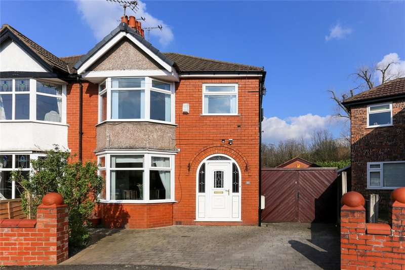 3 Bedrooms Semi Detached House for sale in Mellington Avenue, East Didsbury, Manchester, M20