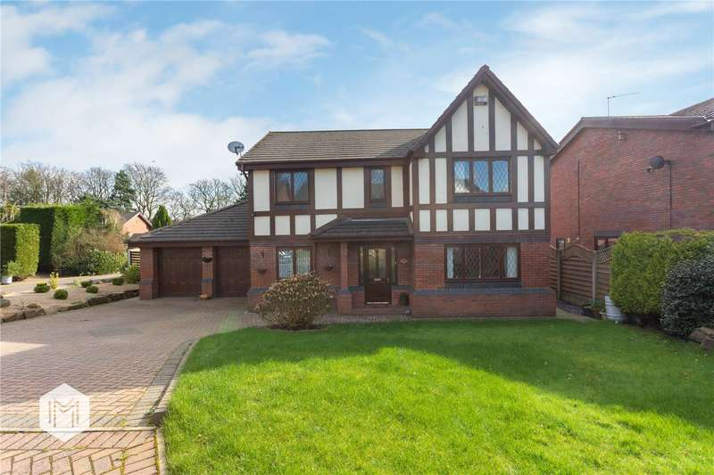 4 Bedrooms Detached House for sale in Conway Drive, Bury, Greater Manchester, BL9