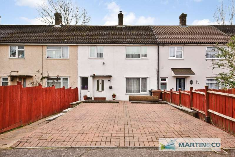 3 Bedrooms Terraced House for sale in Holly Leys, Stevenage SG2