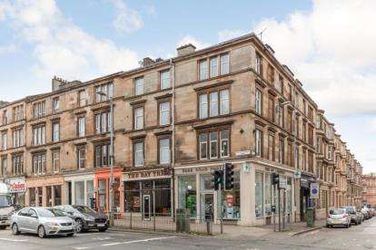 2 Bedrooms Flat for sale in Great Western Road, Kelvinbridge