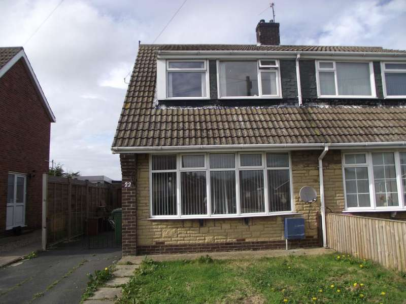 3 Bedrooms Semi Detached House for rent in Havercroft Road, Hunmanby, YO14