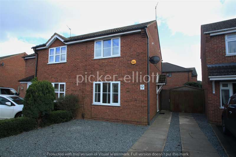 2 Bedrooms Semi Detached House for sale in Severn Avenue, Hinckley
