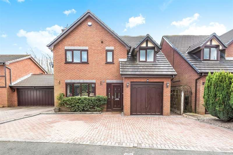 4 Bedrooms Detached House for sale in Bellpit Close, Worsley, Manchester, M28 7XH