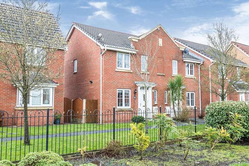 3 Bedrooms Semi Detached House for sale in Marine Crescent, Buckshaw Village, Chorley, Lancashire, PR7