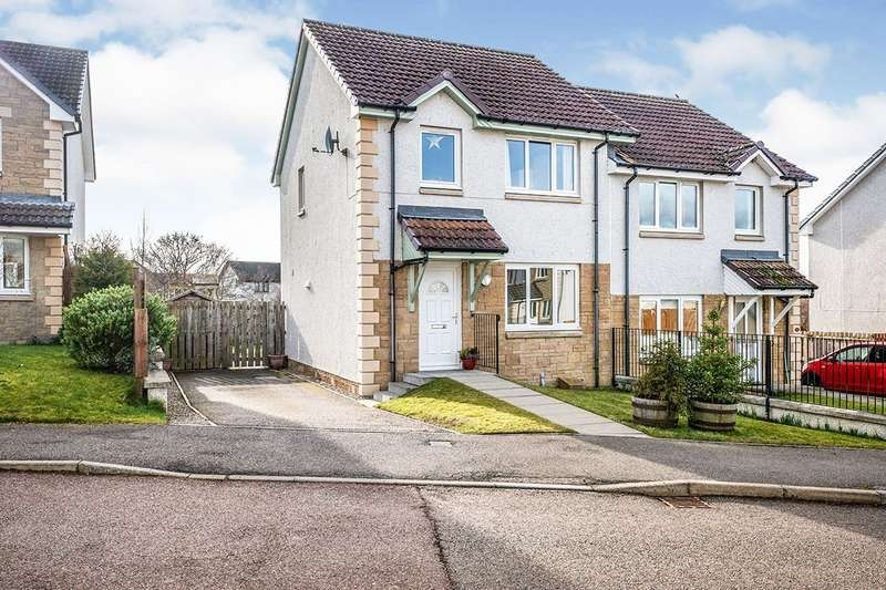 3 Bedrooms Semi Detached House for sale in Greenwood Gardens, Inverness, Highland, IV2