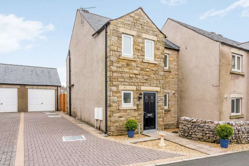 3 Bedrooms End Of Terrace House for sale in 31 Green Meadow Close, Ingleton