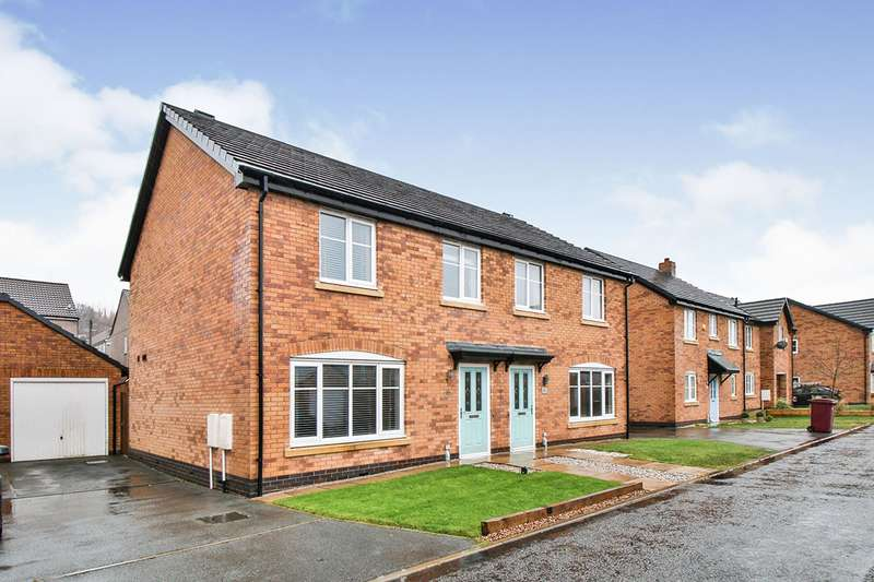 3 Bedrooms Semi Detached House for sale in Millbank Crescent, Burnley, Lancashire, BB10