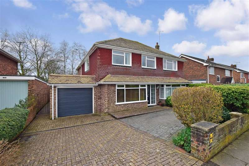 4 Bedrooms Detached House for sale in Pilgrims Way, , Canterbury, Kent