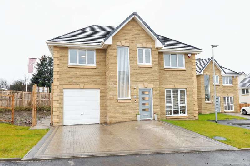4 Bedrooms Detached Villa House for sale in Calderside Place, Moffat Manor, Airdrie, North Lanarkshire, ML6 8XQ