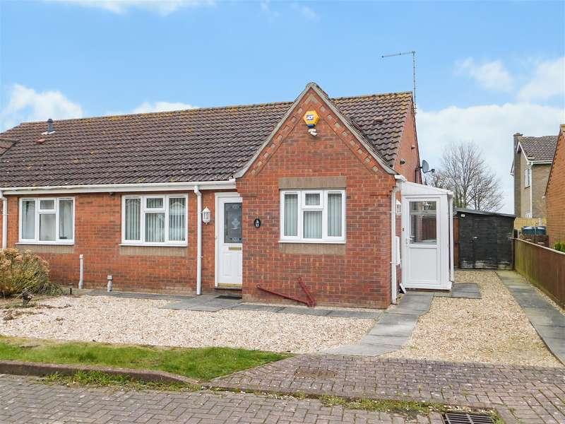 2 Bedrooms Semi Detached Bungalow for sale in St Edmunds Close, Wainfleet St. Mary, Skegness, PE24 4ER
