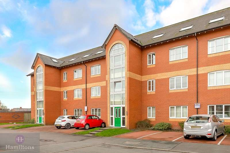 2 Bedrooms Apartment Flat for sale in Stott Wharf, Leigh, Greater Manchester. WN7 2ER