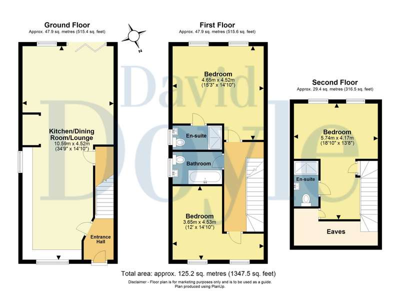 3 Bedrooms House for sale in BRAND NEW 3 BEDROOM WITH 2 ENSUITES IN ADEYFIELD - APPROACHING 1350 sqft