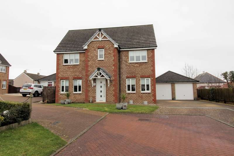 4 Bedrooms Detached House for sale in School Wynd, DUNDONALD, Kilmarnock, KA2