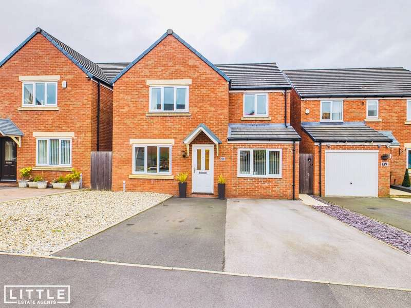 4 Bedrooms Detached House for sale in Hartley Green Gardens, Billinge, WN5
