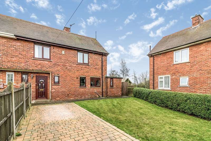 3 Bedrooms Semi Detached House for sale in Ridge Way Close, Rotherham, South Yorkshire, S65