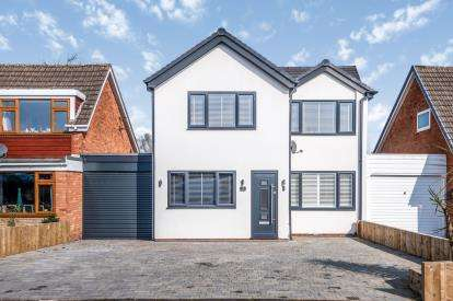4 Bedrooms Detached House for sale in Holly Drive, Walton On The Hill, Stafford, Staffordshire