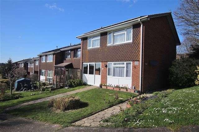 4 Bedrooms End Of Terrace House for sale in Lancaster Close, Portchester, Fareham, Hampshire, PO16 8ES