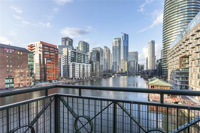 2 Bedrooms Apartment Flat for sale in Pepper Street, London, E14