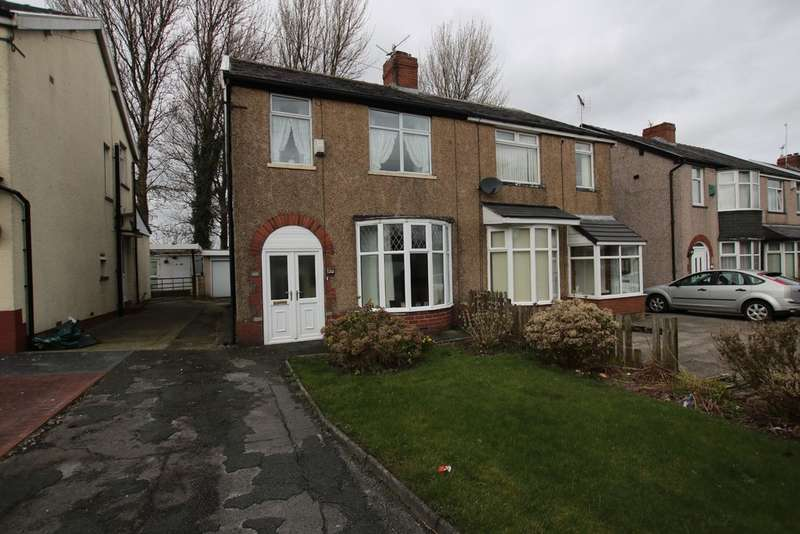3 Bedrooms Semi Detached House for sale in Shadsworth Road, Shadsworth, Blackburn
