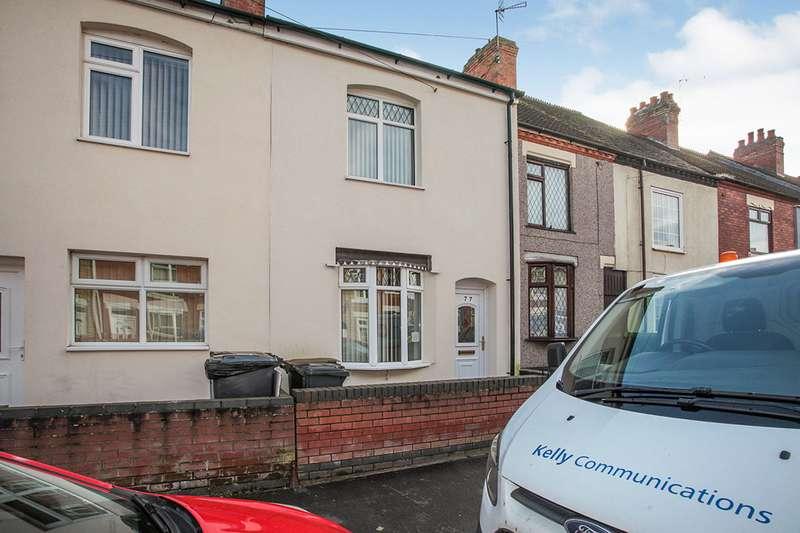 2 Bedrooms House for sale in Webb Street, Nuneaton, Warwickshire, CV10