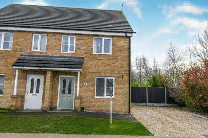 3 Bedrooms Semi Detached House for sale in Church Lane, Kirton, Boston, Lincolnshire