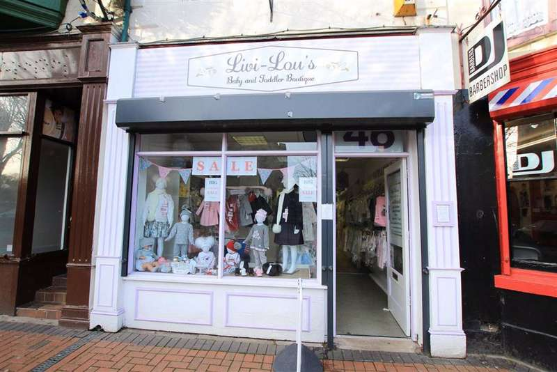 Commercial Property for sale in Church Street, Flint, Flintshire, CH6