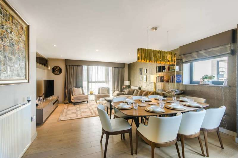3 Bedrooms Flat for sale in Singapore Road, West Ealing, W13
