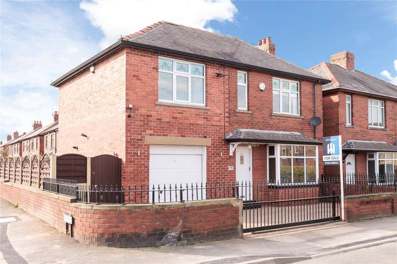 4 Bedrooms Detached House for sale in Croftlands, Hanging Heaton, Batley, WF17