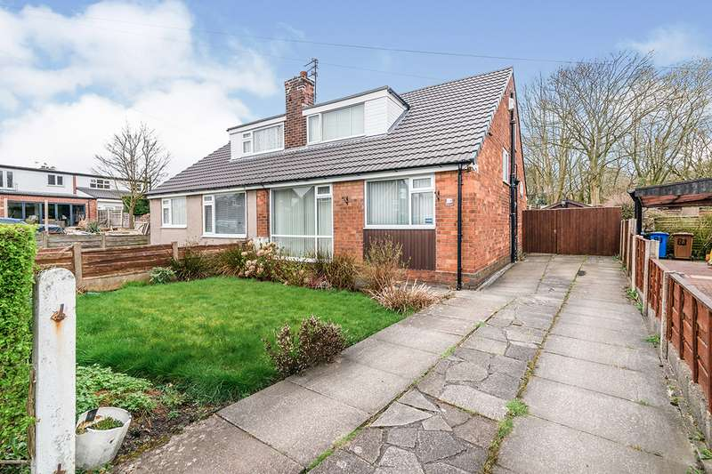 3 Bedrooms Semi Detached Bungalow for sale in Sindsley Road, Wardley, M27