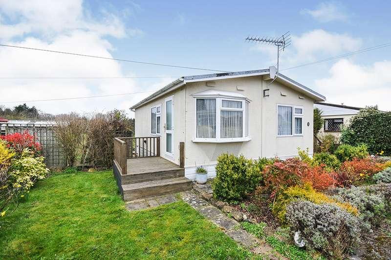 2 Bedrooms Park Home Mobile Home for sale in East Hill Farm, East Hill Road, Knatts Valley, Sevenoaks, TN15