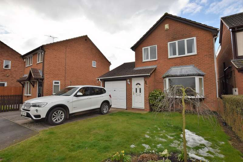 3 Bedrooms Detached House for sale in Manton Close, Broughton Astley LE9