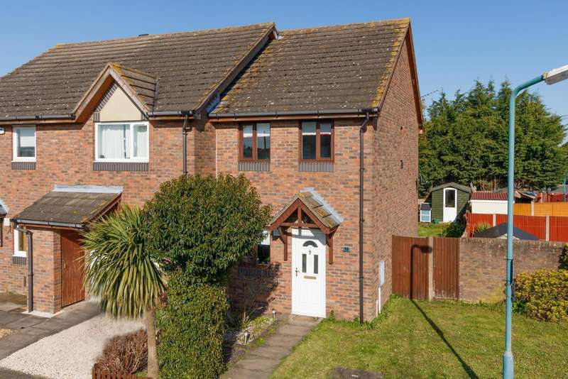 2 Bedrooms Semi Detached House for sale in Maple Court, Hersden, Nr Canterbury, CT3