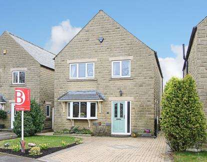 4 Bedrooms Detached House for sale in Blacksmiths Close, Glapwell, Chesterfield, Derbyshire