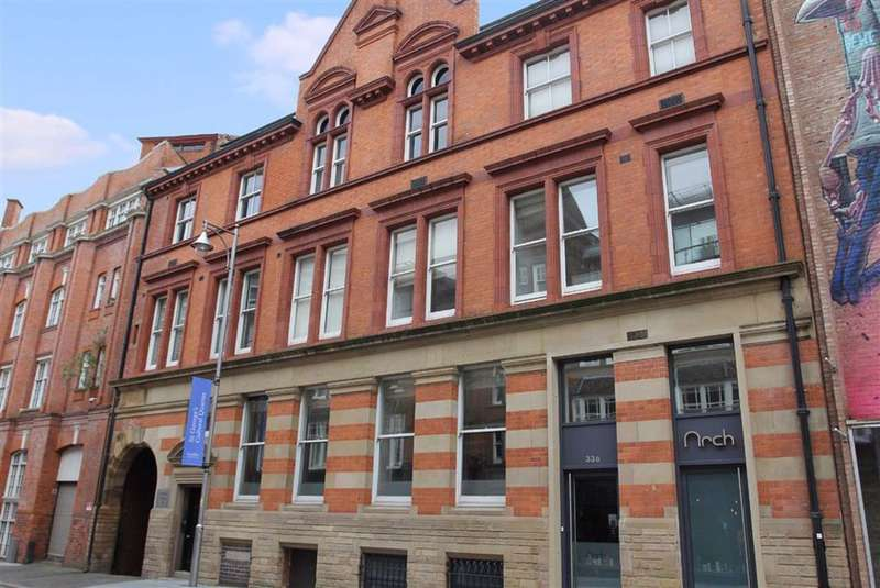 2 Bedrooms Apartment Flat for sale in Rutland Street, Cultural Quarter, Leicester
