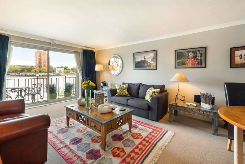 2 Bedrooms Flat for sale in Thorney Crescent, Morgans Walk, Battersea, London, SW11