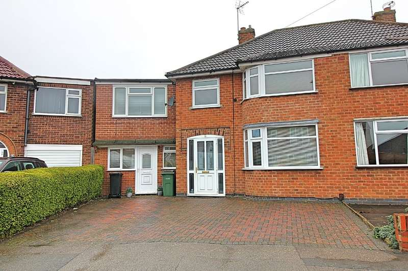 7 Bedrooms Semi Detached House for sale in Repton Road, Wigston