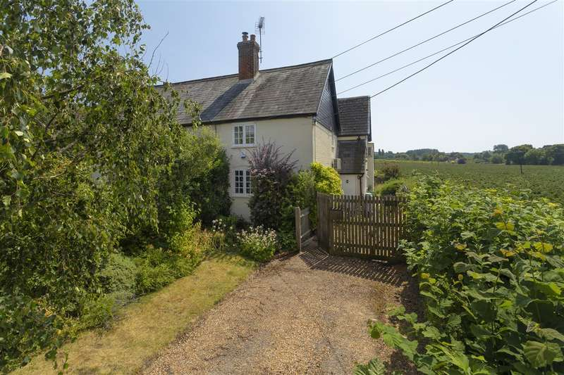 3 Bedrooms End Of Terrace House for sale in North Lane Cottages, North Lane, Boughton-under-Blean
