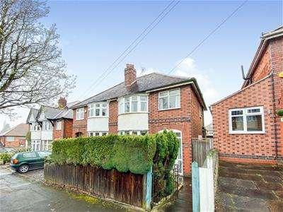 3 Bedrooms Semi Detached House for sale in Dorchester Road, Leicester
