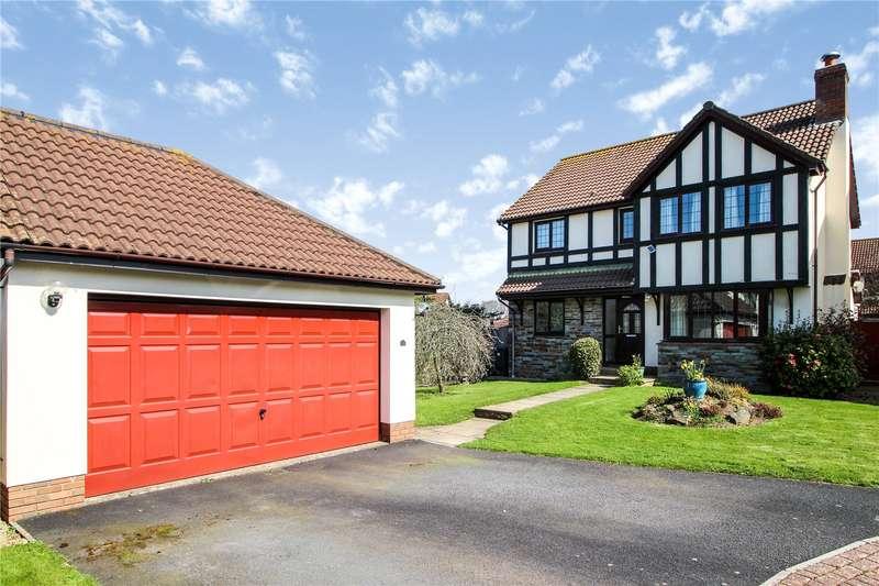 4 Bedrooms Detached House for sale in Linhay Drive, Fremington, Barnstaple, EX31