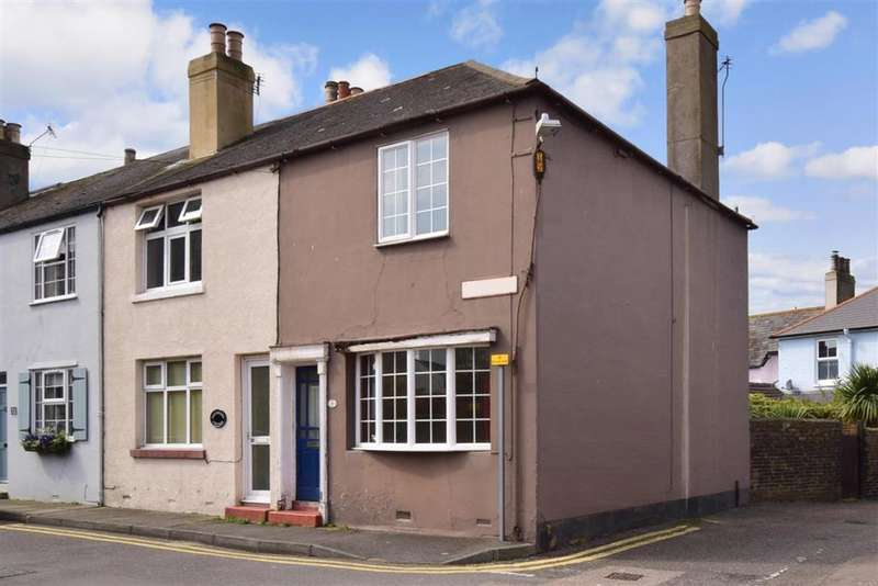 2 Bedrooms End Of Terrace House for sale in York Road, , Walmer, Deal, Kent