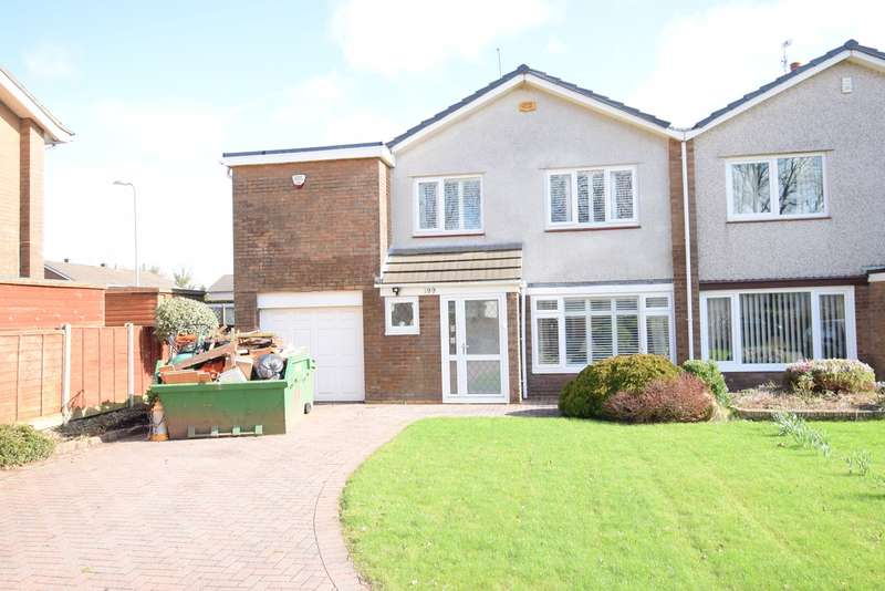 4 Bedrooms Semi Detached House for sale in The Highway, Croesyceiliog, Cwmbran, NP44