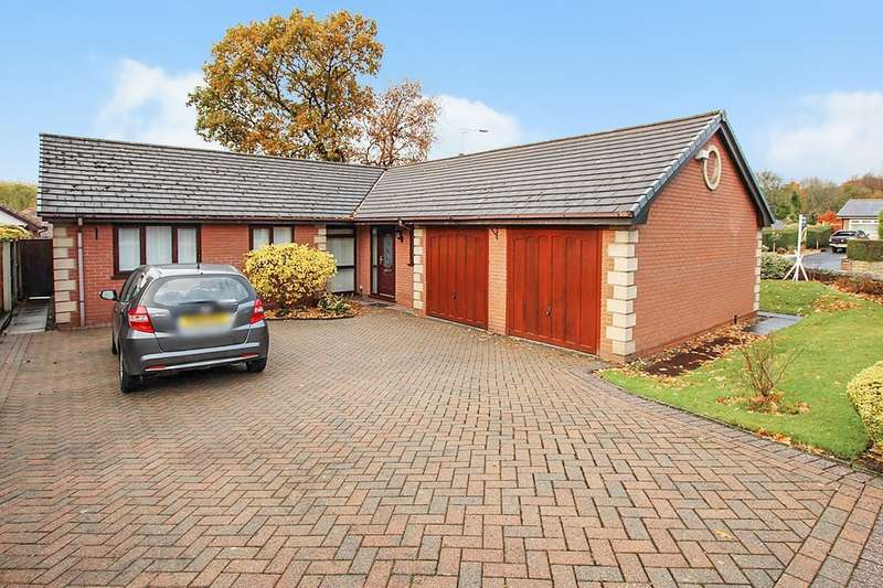 4 Bedrooms Bungalow for sale in Smallshaw Close, Ashton-in-Makerfield, Wigan, WN4