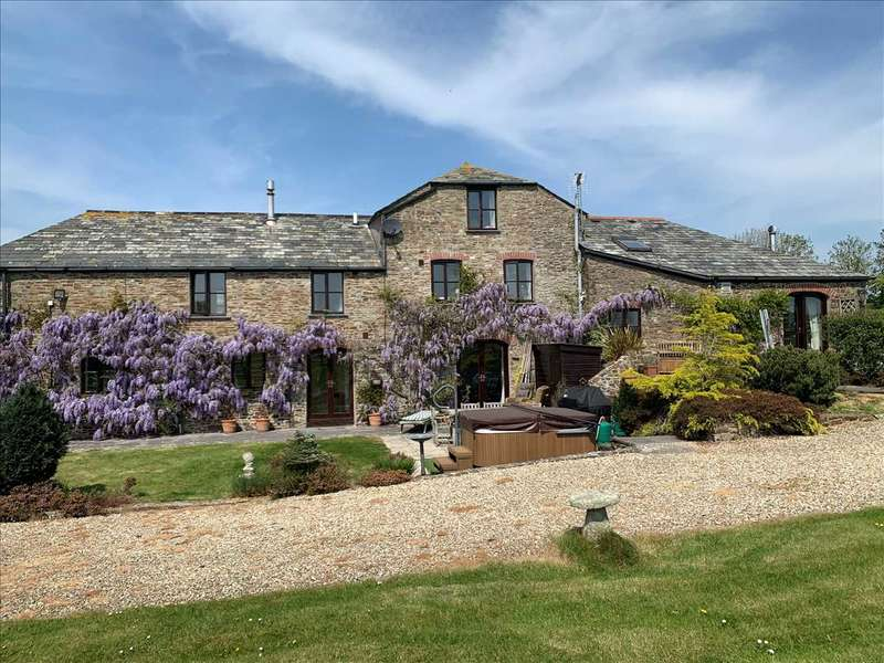 5 Bedrooms Detached House for sale in Hobbacott Mill & The Round House, Marhamchurch, Bude