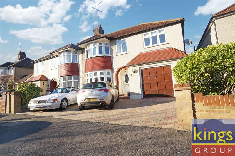 4 Bedrooms Semi Detached House for sale in Rosslyn Avenue, London