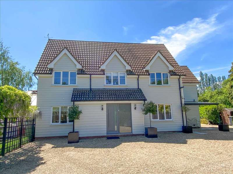 4 Bedrooms Detached House for sale in Mickfield, Stowmarket