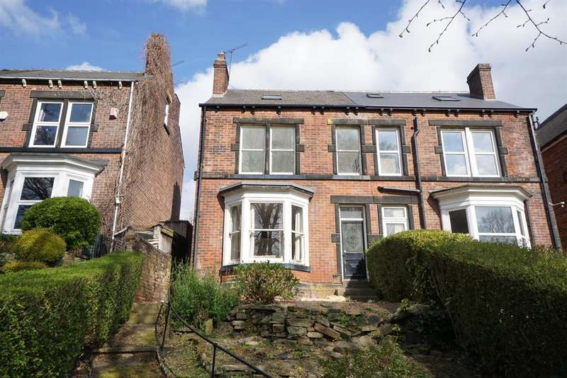 4 Bedrooms Semi Detached House for sale in 50 Crabtree Lane, Norwood, Sheffield, S5 7AY