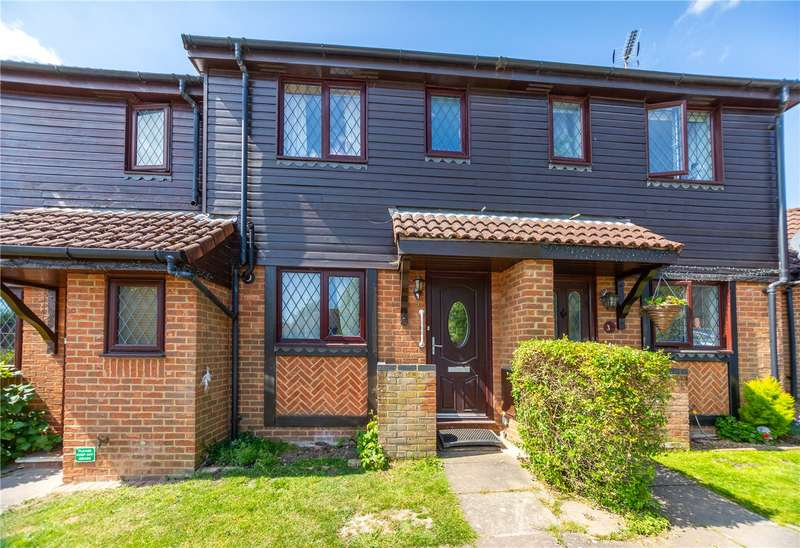 2 Bedrooms Terraced House for sale in Burton Close, Windlesham, Surrey, GU20