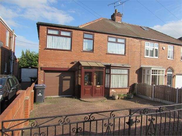 4 Bedrooms Semi Detached House for sale in Park Road, Conisbrough, DN12 2ES