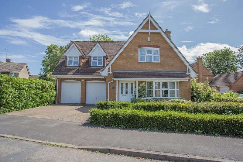 4 Bedrooms Detached House for sale in Louthe Way, Sawtry, Huntingdon, Cambridgeshire. PE28 5TR